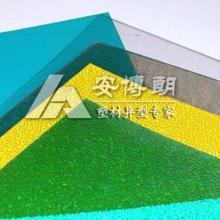 供应pc颗粒板 荔枝纹PC颗粒板 厨卫专用pc耐力板颗粒板图片