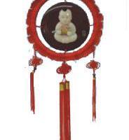 漆器中国结挂饰
