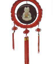 供应漆器中国结挂饰