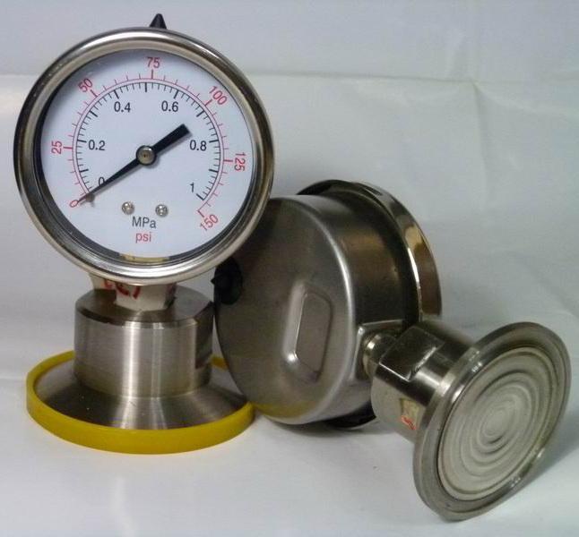 隔膜压力表图片 隔膜压力表样板图 隔膜压力表 安徽海通热...
