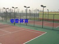 供应篮球·网球·羽毛球等场地铺设 篮球场地硅PU,篮球场灯批发