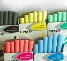 供应无尘粉笔行业/中国产粉笔城市/办公文教粉笔用品加工图片