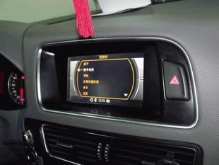 奥迪Q5导航原车屏升级高清图片