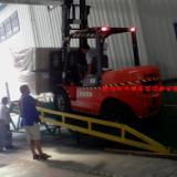 供应惠州淡水货台高度调节板装卸平台