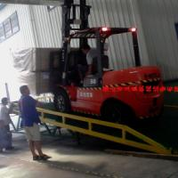 供应东莞清溪货台高度调节板装卸平台