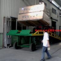 供应无装卸站台用集装箱移动叉车平台