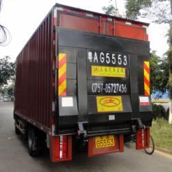 供应佛山汽車尾板生产商安装汽車尾板2.0吨貨車尾板报价