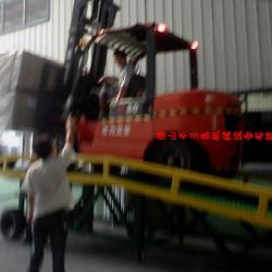 供應叉車機械上貨裝卸平台供貨商