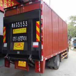 供应供应广东佛山小貨車尾板产生厂家汽车液压尾板 货车装卸尾板