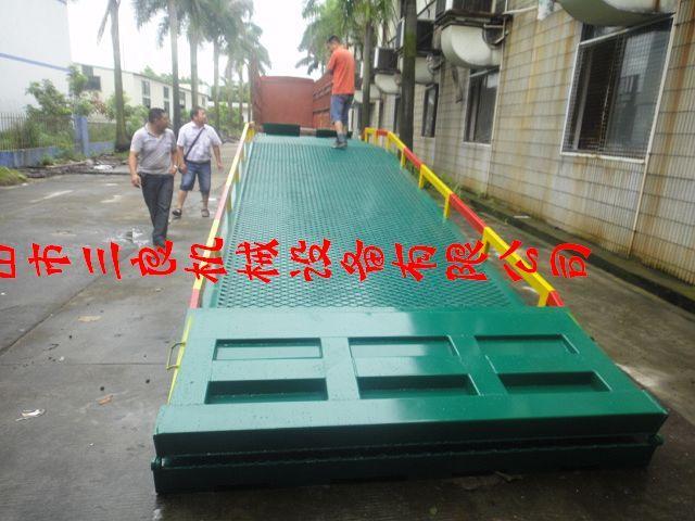 供应货台高度调板过柜车桥供货货