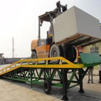 供应三良三水搬动车辆配套快速装卸贸易出货台搭地板移动式登车桥