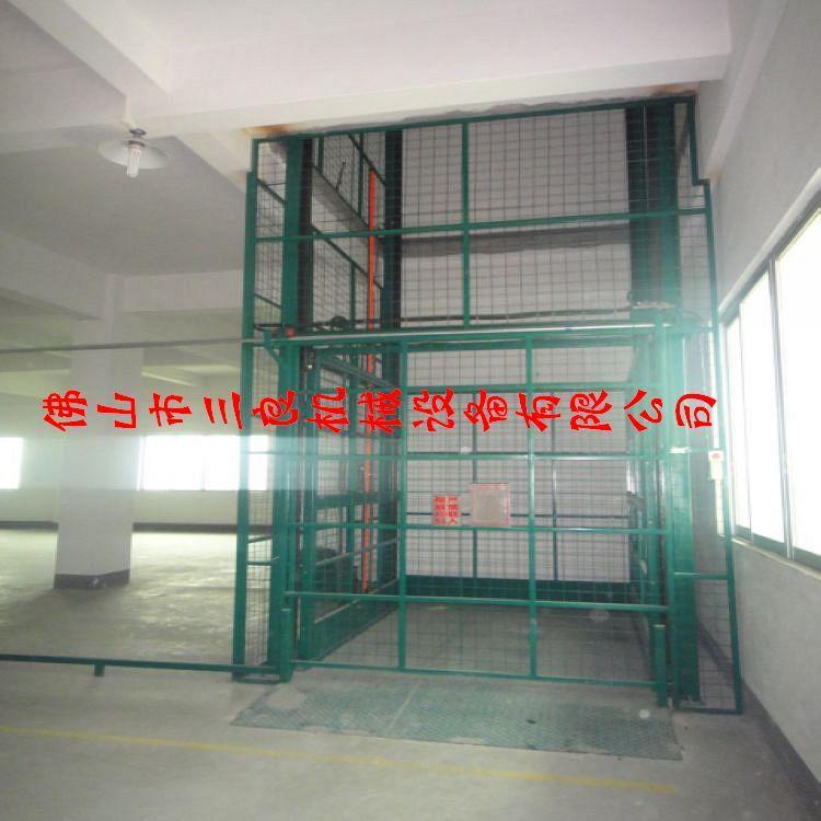供应中山小榄电器厂专用上货楼层吊笼,液压直顶吊笼报价