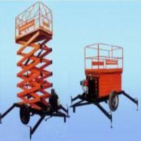 供应淡水剪式升降平台液压升降机
