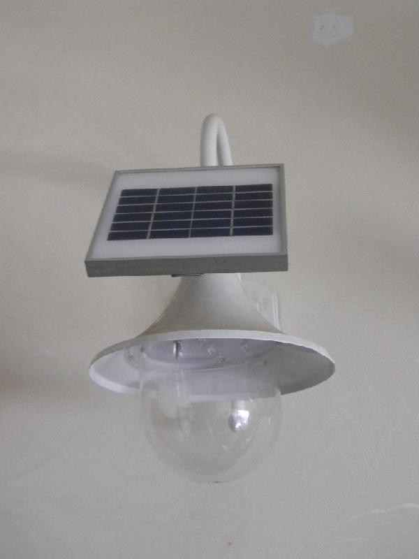5w太阳能臂头灯dc5335图片大全