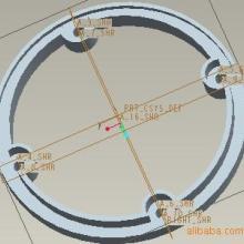 供应硅胶圈U型密封圈四孔定位密封件