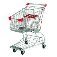 供应超市购物车手推车金属购物车