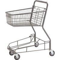 供应超市双层式购物车和购物篮