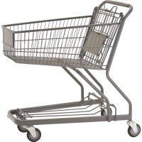 供应安全不伤手美式超市购物车图片