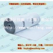 上海喷漆房高效粘性顶棚过滤棉图片