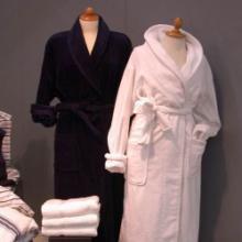 单层双面浴袍