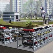 平面移动类立体停车位图片