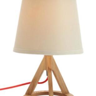 现代简约家居灯饰木艺台灯灯饰图片