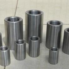 供应建筑用钢筋连接套筒/钢筋连接套管/直螺纹钢筋连接套图片