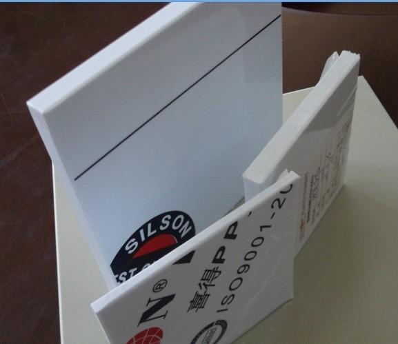 供应瓷白色PP板台湾喜得进口全新原料制作瓷白PP板