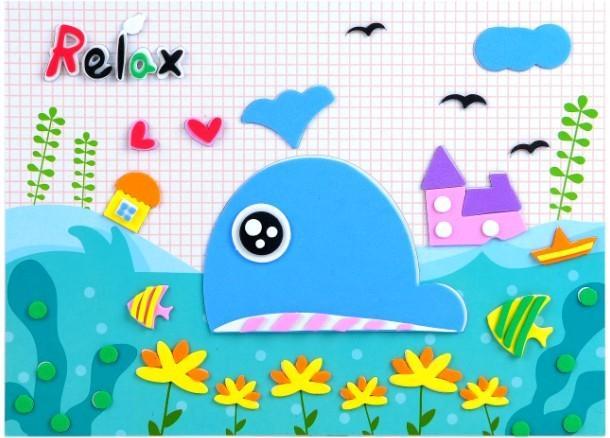 幼儿园创意贴画