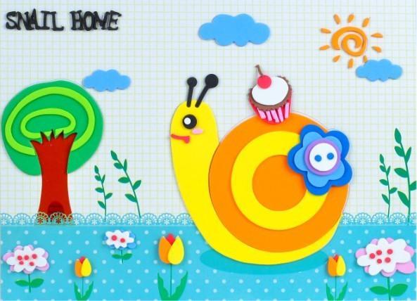 供应幼儿园益智玩具 卡通创意贴画 一件代发 图
