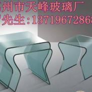 深圳陈列柜台专用热弯玻璃生产厂图片