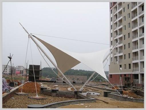 供应膜结构设计安装长沙山水南雅景观