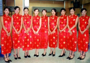 礼仪模特图片 礼仪模特样板图 广州论坛会议礼仪工作