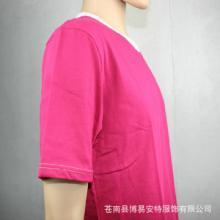 男式拼色圆领T恤 时尚短袖T恤 厂家直销