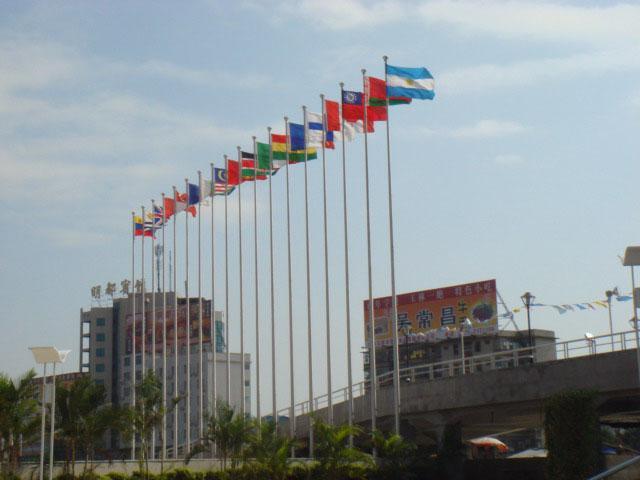 贵州威雅旗杆加工中心