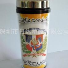 供应深圳星巴克广告杯 咖啡杯 广告促销双层 PP杯批发