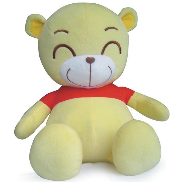 可爱图片小熊侧面