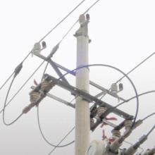 供应线路绝缘子防雷电过电压保护器