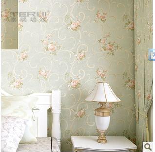 彩铅手绘风格壁纸卧室墙纸图片