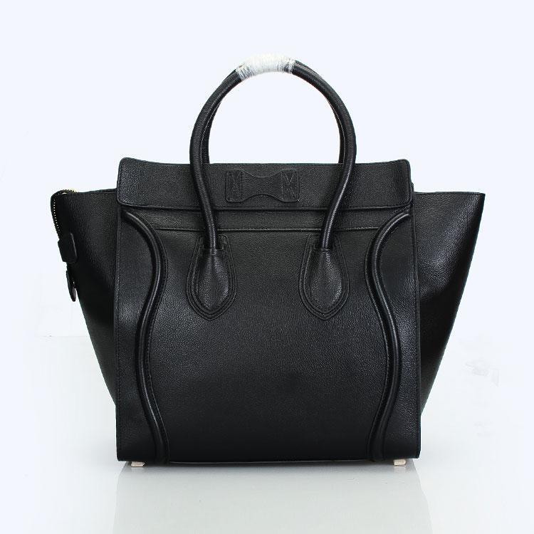 手提包图片|手提包样板图|celine大号牛皮荔枝纹手提