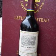 法国拉菲堡干红葡萄酒2004图片