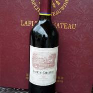 法国拉菲堡干红葡萄酒2003图片