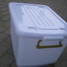 供应60L塑料整理箱中号塑料整理箱储物箱滑轮箱塑胶整理箱苏州塑料箱批发