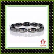 纯钛手链钢钛手链防辐射情侣手链图片