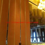 大型宴会厅转向折叠隔断屏风