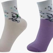 供应外贸原单纯棉袜女士休闲袜批发