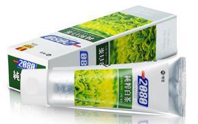 韩国爱敬2080纯粹白茶牙膏100g图片