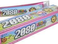 韩国爱敬2080草莓味牙膏80g图片