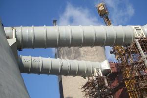 供应广西电厂脱硫玻璃钢烟囱