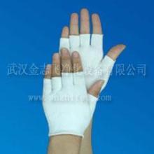 供应针织尼龙半指手套涂层手套